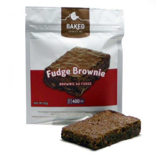 Baked Fudge Brownie Candy
