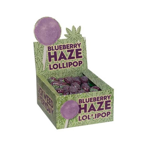 Blueberry Haze Lollipop