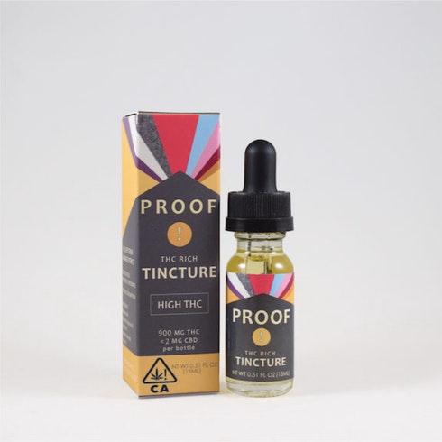 THC-Rich Cannabis Tincture