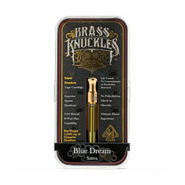 Blue Dream Brass Knuckles