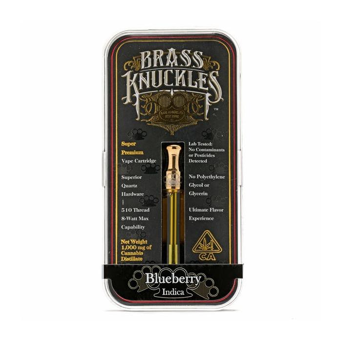 Blueberry Brass Knuckles