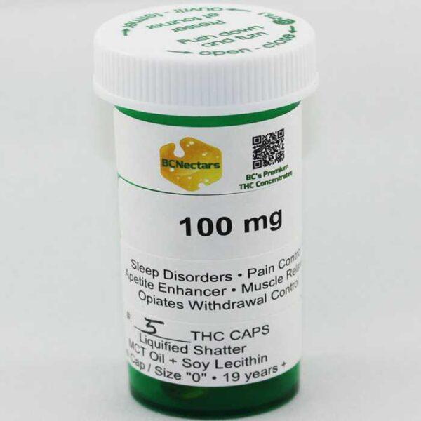 Shatter THC Caps
