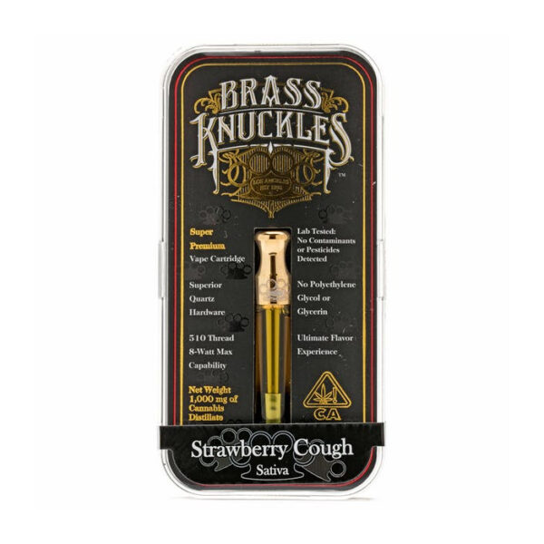 Strawberry Cough Brass Knuckles